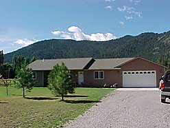 superior, Montana, home for sale, garage, national forest, Clark fork, river, house for sale