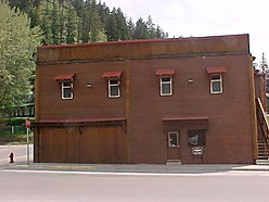 commercial building, superior, montana, historical building, remodeled, business, I-90, store for sale