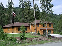St.Regis, Montana, trestle creek golf course, cedar siding, propane boiler, granite, solar guard, for sale