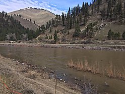 river frontage, clark fork river, for sale, superior, montana, wildlife, national forest, views,  for sale