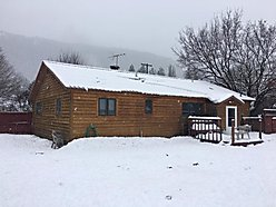 home, for sale, superior, montana, updated, garage, fenced yard, private, storage, large yard, acre, for sale