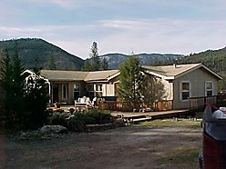 home, superior, montana, views, horses, acres, fenced, pasture, barn, basement, deck, water, garage,
