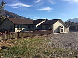 home, for sale, superior, montana, clark fork river, acres, views, garage, storage, deck, mountains, for sale