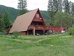 home, for sale, superior, montana, rv hook up, lolo hot springs, glacier national park, river,  for sale