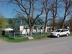 Home, For sale, Superior, Montana, Fenced yard, Garage, bedroom, basement, gas, cooktop, porch, washer, dryer,