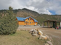 Bedroom, Superior, Montana, for sale, home, clark fork, log sided, granite, hickory floors, acres, ICR