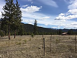 building, lot, for sale, superior, montana, missoula, river, clark fork river, level, power, views,  for sale