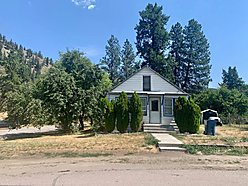 home, for sale, superior, montana, income producing, unfinished, city water, clark fork river, rent, for sale