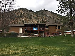home, for sale, river frontage, clark fork river, superior, montana, horse property, hay shed,  for sale