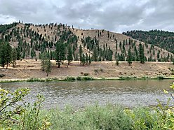 land, for sale, superior, montana, year round access, riverfront, lolo national forest, views, acre, for sale