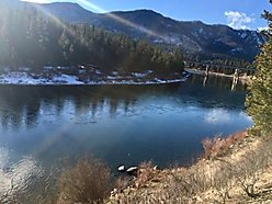 building lot, for sale, superior, montana, river frontage, clark fork river, well, septic, hunt,  for sale