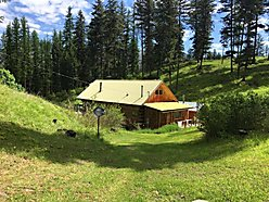 home, for sale, acres, wildlife, barn, shed, deck, usfs land, clark fork river, superior, montana,  for sale