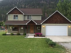 home, for sale, Alberta, Missoula, Montana, hickory flooring, deck, sprinkler system, views,  for sale