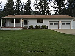 home, move in ready, Superior, Montana, porch, deck, yard, fenced, private, landscaped, views, for sale