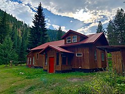 cabin, home, for sale, superior, montana, ed's creek, year round, wildlife, views, usfs, acres,   for sale