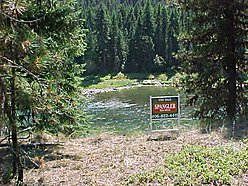 acre, lot, for sale, St. Regis, Montana, Clark Fork River, Highway 135, scenic, recreation for sale