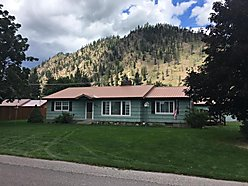 home, for sale, single level, superior, montana, clark fork river, storage, fenced yard, garage,  for sale