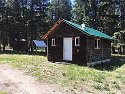 cabin, acres, for sale, off grid, clark fork river, superior, montana, hunt, fish, boat launch,  for sale