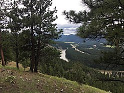 land, for sale, superior, montana, acres, state land, lolo hot springs, clark fork river, views,  for sale