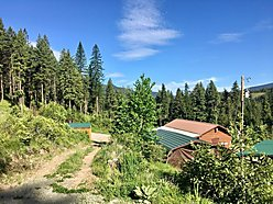 cabin, home, guest house, for sale, superior, montana, garage, acres, wildlife, shooting range, elk, for sale