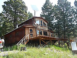 cabin, acres, for sale, alternative energy system, Bob Marshall Wilderness, spring, game, wilderness for sale