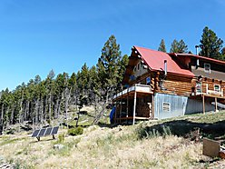 Basin, Montana, Property, acres, log home, self-sufficient, alternative energy, National Forest, for sale