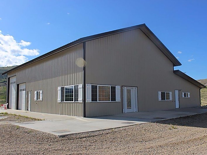 Huge Shop With Living Quarters On 21 Acres For Sale In