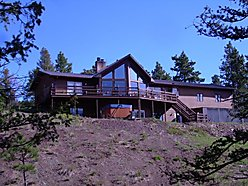 home, for sale, wolf creek, montana, off grid, solar panel, gates of the mountains, creek, shop,  for sale