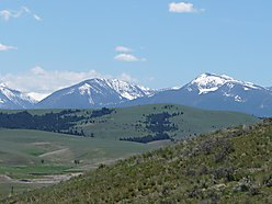 land, for sale, deer lodge, montana, year round access, power, little blackfoot river, fish, views,  for sale