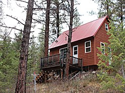 cabin, river front, for sale, clark fork river, for sale, lolo hot springs, st. regis, montana, for sale