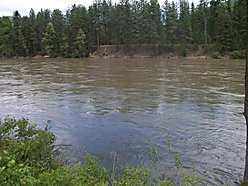 river front, lot, for sale, st. regis, montana, lolo hot springs, flathead lake, national forest,  for sale