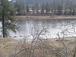 lot, for sale, superior, montana, rv, power, water, clark fork river, river access, wildlife, views, for sale