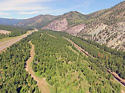 parcel, acres, land, property, commercial, for sale, Montana, Mineral County, Alberton Gorge for sale