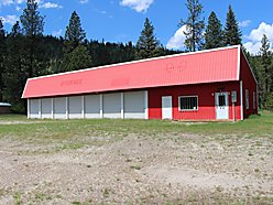 commercial building, for sale, de borgia, montana, st. regis river, business, hiawatha bike trail,  for sale